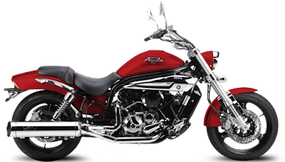 Hyosung Aquila Pro 650 lawa red colour image