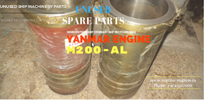 Yanmar, Yanmar M200 AL, spare parts, unused, ship machinery, recondition, engine room, supplier,