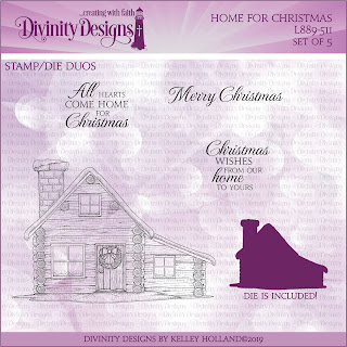 Stamp/Die Duos: Home for Christmas