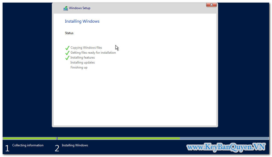 Hướng dẫn cài đặt Key bản quyền Windows Server 2016 Standard - Datacenter - Foundation - Essentials .