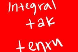 Contoh soal dan cara penyelesaian integral tak tentu dengan mudah