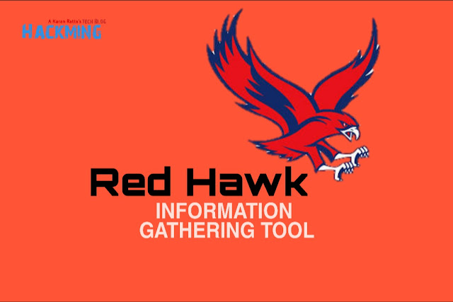 Red Hawk - Information Gathering & Vulnerability Scanner Tool