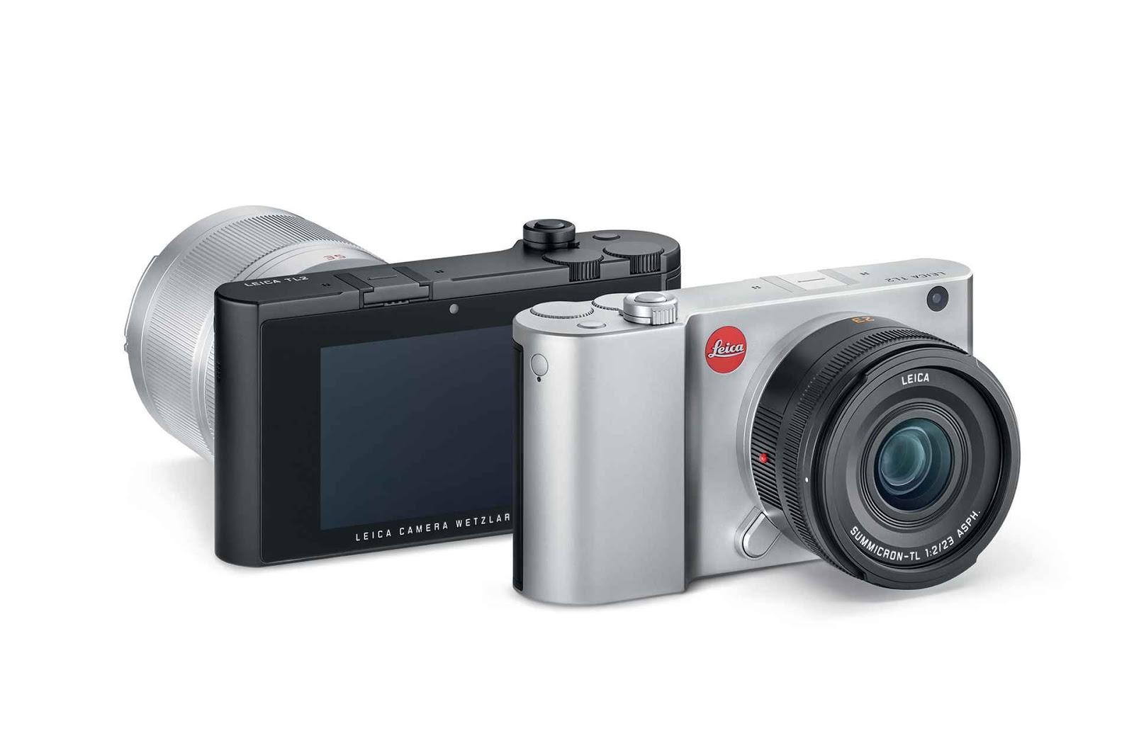 Leica TL2 выпускается в черном и серебристом цветах