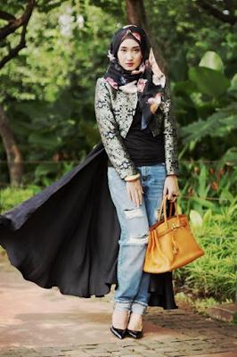 Baju Muslim Casual Dian Pelangi15