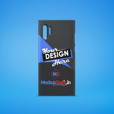 Mockup Custom Case Samsung Galaxy Note 10+