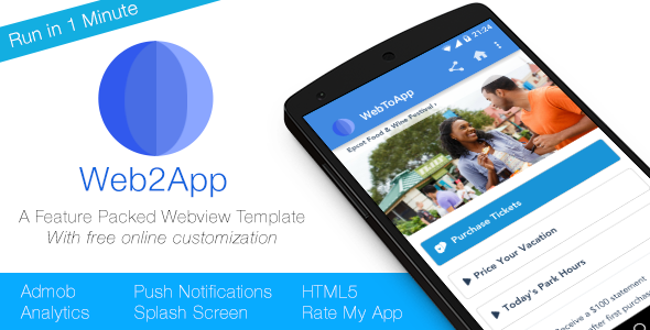 Geek On Java: Web2App - Full Feature-Rich Android Webview Nulled
