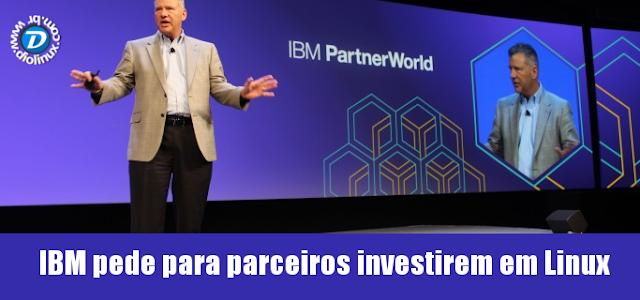 IBM pede para parceiros usarem Linux