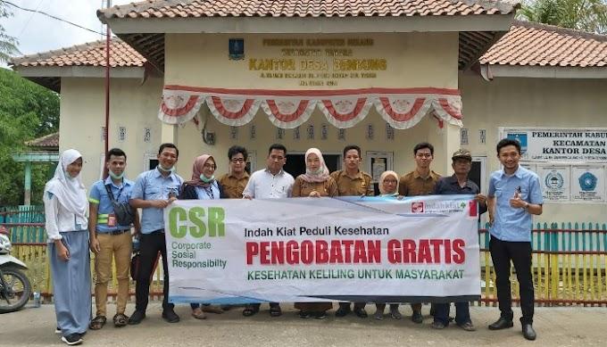 Tingkatkan Kualitas Kesehatan Masyarakat, Indah Kiat Serang Gelar Kegiatan Kesehatan Keliling di 16 Desa
