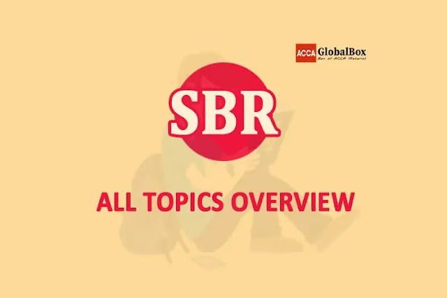 SBR - ALL Topics Overview
