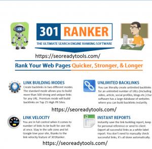 301 Ranker Pro v1.0 Crack With Keygen