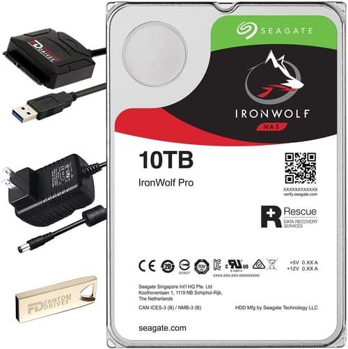 FD 10TB 7200RPM Hard Drive Upgrade Kit