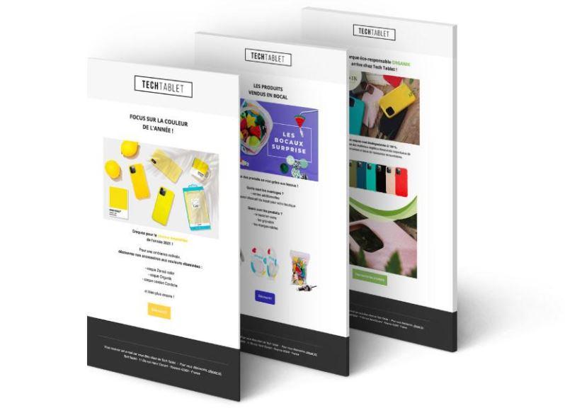 Newsletter : tech tablet