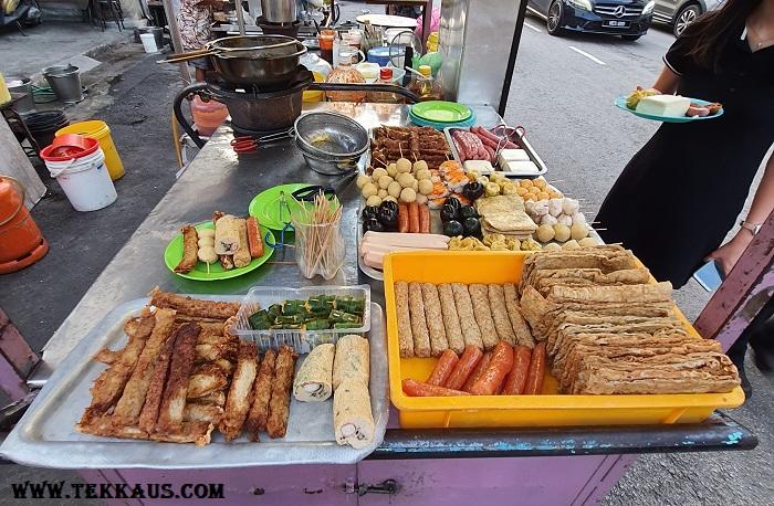 Chulia Street Night Hawker Stalls Penang What to eat Lor Bak