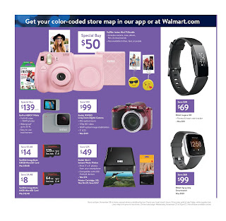 Walmart black friday ad scan 2019 cameras, smartwatches