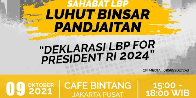 Muncul Deklarasi Luhut Presiden 2024, Muslim Arbi: Jokowi Masih Berkuasa, Kok Kampanye Duluan?