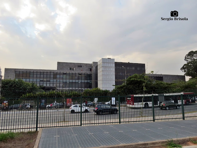 Vista ampla de parte do complexo do Clube Atlético Monte Líbano - Jardim Luzitania - São Paulo