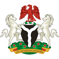 Logo Gambar Lambang Simbol Negara Nigeria PNG JPG ukuran 200 px