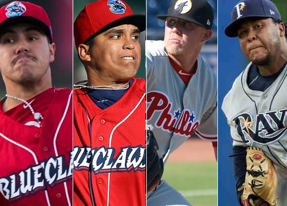 Phillies add four prospects to 40-man roster