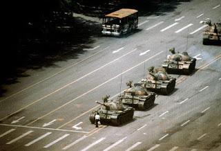 """""""El héroe desconocido de la plaza Tiananmen"""""""
