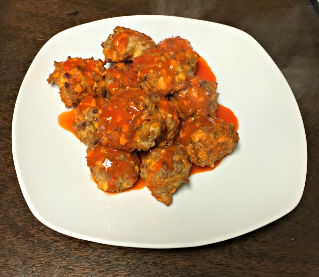 Recipes I've Tried Lately - Turkey Buffalo Balls