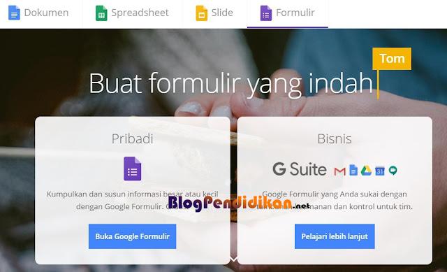 Cara Membuat Soal Online Melalui Google Form