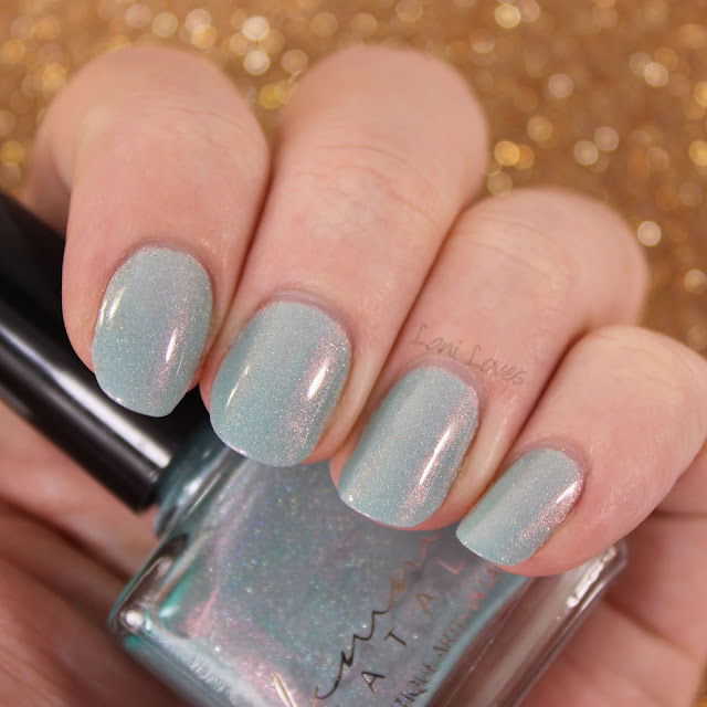 Femme Fatale Upon Seafoam Nail Polish Swatches & Review