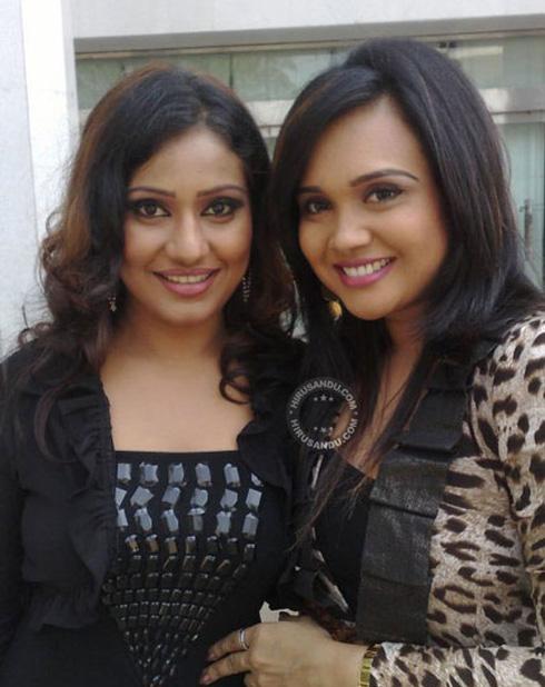 Gayathri dias and Nayana kumari