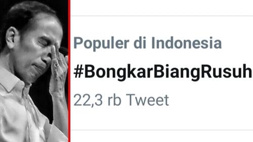 'Bongkar Biang Rusuh' Trending, Netizen: Negara Berduka, Kalian Para Bangsat Malah Manfaatkan Situasi Jatuhkan Pemerintah!