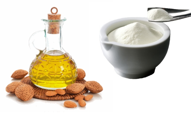 Almond Oil with Milk Paste  | The Girls Beauty Bible