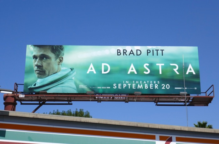 Ad Astra film billboard