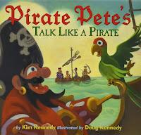 Pirate Pete's Talk Like a Pirate book cover