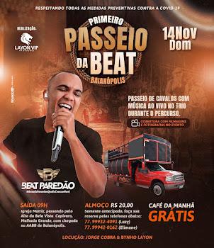 14-Nov- PRIMEIRO PASSEIO DA BEAT