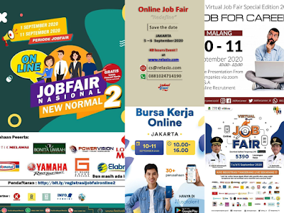 Jadwal Job Fair Lengkap di Bulan September 2020