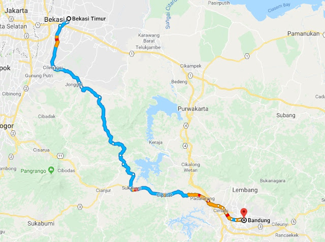 petunjuk-rute-jalan-dari-bekasi-ke- Badnung-melalui Nanggeleng-Cirahayu
