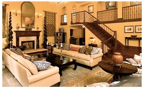 traditional style living room accent bench interior design leovan