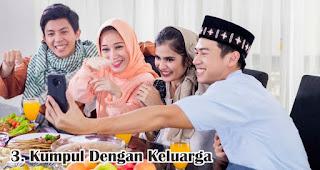 Kumpul Dengan Keluarga merupakan salah satu kegiatan seru yang dilakukan saat Idul Adha