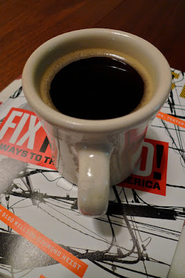 Cup of Joe: photo by Cliff Hutson