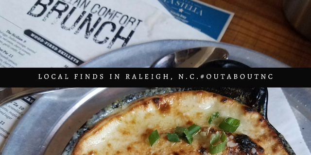 Book your Hotel Stay in Raleigh. Brunch at Pizza La Stella in #downtown Raleigh