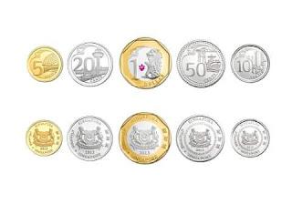 uang koin dolar singapura