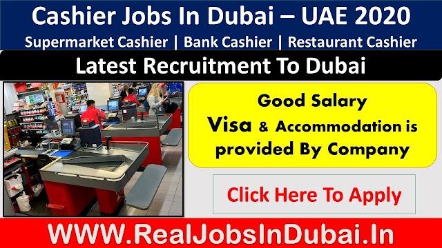 Cashier Jobs In Dubai , Abu Dhabi & Sharjah - UAE 2020