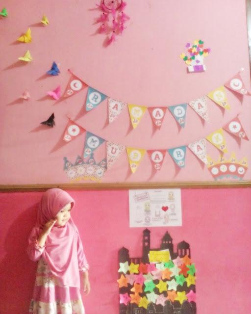 Dekorasi Ramadhan Pink