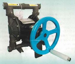 Manual diaphragm pumps