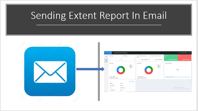 How to send extent reports in email
