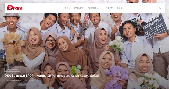 offisial website gani nur pramudyo 2019