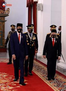 Pidato Presiden RI Peringati HUT TNI Ke-75