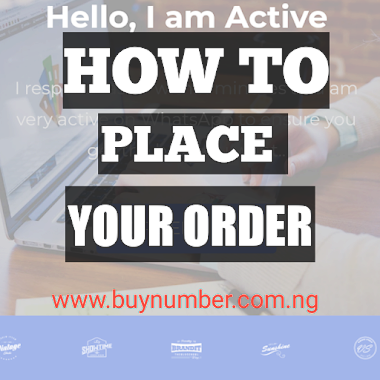 Watch!!! How to place order on buynumber.com.ng