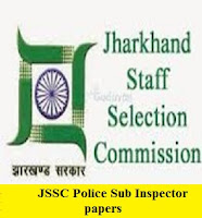 JSSC Police Sub Inspector Previous papers |