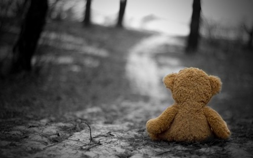 Image result for loneliness teddy