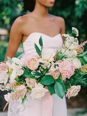 big bridal bouquet