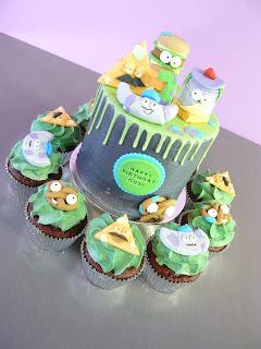 Grossery Gang cupcakes